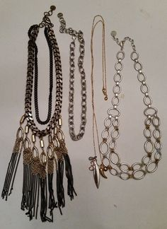 Stella and Dot Necklaces Lot of 4  #StellaDot #fashion #necklace #ebay #jewelry