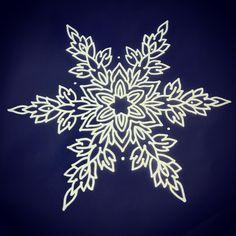 Snowflake ❄️ #tattoos #mandala #mandalatattoo #snowflaketattoo #nuitnoiretattoo