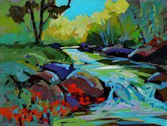 "Brian Buckrell  ""Spring Stream"""