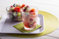 Fruity Ice Cubes from Tastefully Simple's blog: http:www.tsrecipes.com