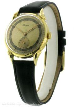 VINTAGE - Stowa 14k gold vintage watch :: Goedhorloge.nl