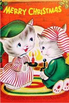 Kitty-mas Card!?..I remember a lot of Christmas cards and pics, but this one stands out in my mind.  ...dl