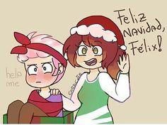 Aki esta tu regalo xDDD Fede x Felix  Fnafhs