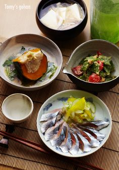 Japanese meal at home - Washoku 和食