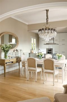 Calidos Elegant Dining Room, Dining Room Design, Dining Rooms, Dining Area,  Kitchen