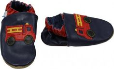 Robeez Firetruck Infant Shoes
