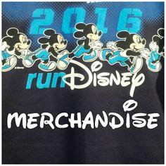 A peek into the new run Disney Merchandise