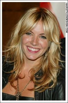 YAY!! My hair and bangs are growing i want this look. middle part bangs and waves
