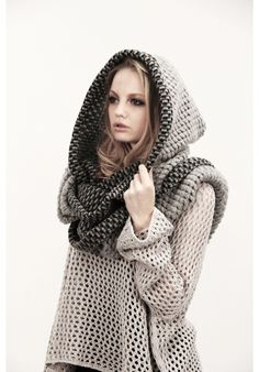 Hood, scarf... unite! ;) Fegore @76Hudson