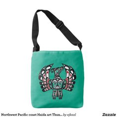 Northwest Pacific coast Haida art Thunderbird Tote Bag