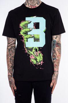 ed67a00bc7a Green Claw Tee Black black pyramid🔥 Chris Brown Clothing Line, Black  Pyramid Chris Brown