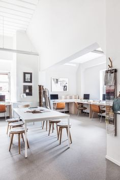 Avenue Studio Tour: Before & After - Avenue Lifestyle Avenue Lifestyle Design Studio Office, Office Interior Design, Office Interiors, Office Workspace, Home Office, Architecture Design, Creative Office Space, Workspace Inspiration, Decoration