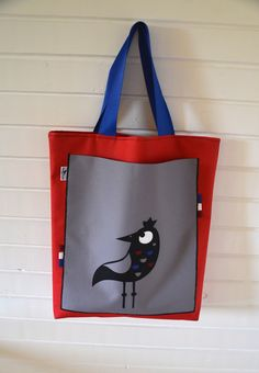 ZsurigoWorks - hande made art from Hungary. Shopping bag.
