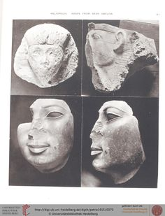 Statues found near obelisk of Heliopolis.