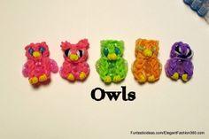 Rainbow Loom Owl charm ♥Subscribe YouTube Channel: https://www.youtube.com/user/ElegantFashion360 ♥ Sing up for Newsletter: http://elegantfashion360.com