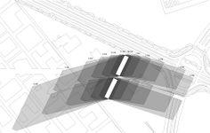 REX diseña una fachada de sombrillas retráctiles para el fuerte sol del Medio Oriente