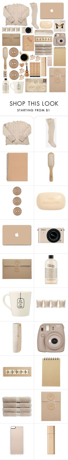 """""""Why can't I get you off of my mind?..."""" by emo-kyleigh ❤ liked on Polyvore featuring Claudie Pierlot, UGG, Philip Kingsley, Sisley, 3M, Nikon, philosophy, Shabby Chic, HAY and Fujifilm"""