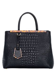 Fendi bag, $2,750, similar styles available at shopBAZAAR.com.