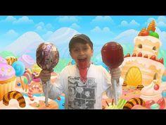 Candy Gummy Joker Tongue Giant Lollipops - Tutsi Pop Gomita Gigante y le...