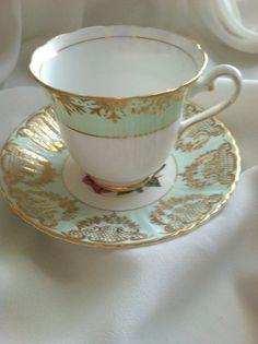 Rosina/Paragon Fine Bone China Tea Cup & Saucer by MariasFarmhouse, $65.00