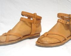 f4ea8b9bd833d4 ANANIAS leather sandals in natural