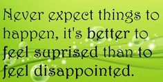 Feel Disappointment Quote