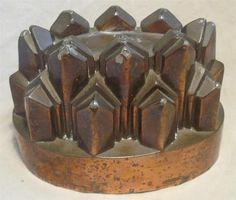 Antique Victorian Benham Froud Copper Jelly Mould Grey Son NO162 | eBay