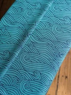 c8bdf0f9ad2 Rei Blue Ice baby wrap made in Scotland by Oscha Slings from organic combed  cotton and