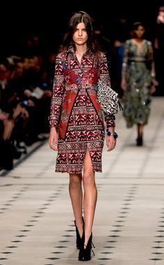 Burberry Prorsum: Best Looks at London Fashion Week Fall 2015