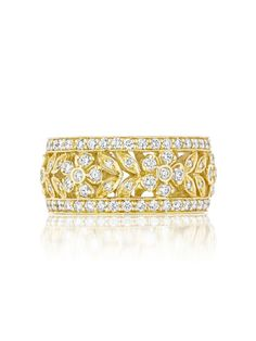 Penny Preville Diamond Wedding Band in Yellow Gold http://www.diamondcellar.com/index.jsp?content=product&product=66293&comp=439