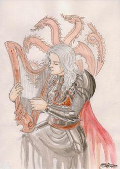 Rhaegar Targaryen by GabrielJardim on @DeviantArt