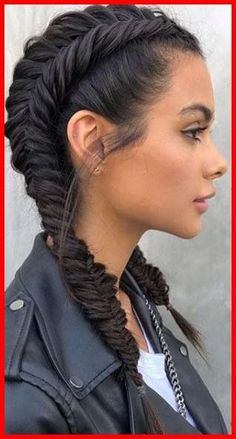 Double Dutch Fishtail Braids, Today I'm excited to be sharing these gorgeous d. Double Dutch Fishtail Braids, Today I'm excited to be sharing these gorgeous double dutch fishtail braids. Box Braids Hairstyles, Fishtail Braid Hairstyles, Try On Hairstyles, Braided Ponytail, Elegant Hairstyles, Beautiful Hairstyles, Braid Hairband, Hairstyle Ideas, Perfect Hairstyle