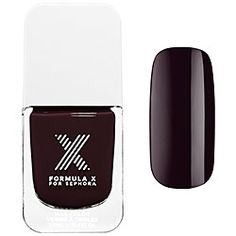 Formula X For Sephora - New Classics in Genius.  I like this because it's dark for fall/winter but less harsh than black #SephoraSweeps