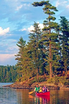 The Boundary Waters Canoe Wilderness Area is a 1,090,000-acre wilderness area in…