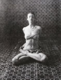 Dorian Leigh - Yoga (D), New York, 1946  Irving Penn Loved and pinned by www.downdogboutique.com to our community Pinterest boards.