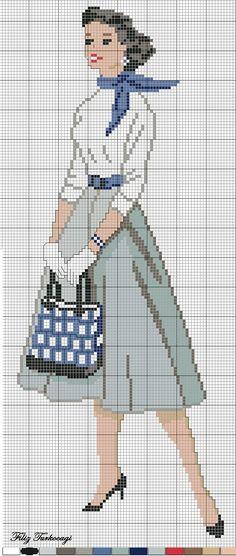 Eski Model Elbise :3 ( vintage dress:3 ) Designed by Filiz Türkocagi ...