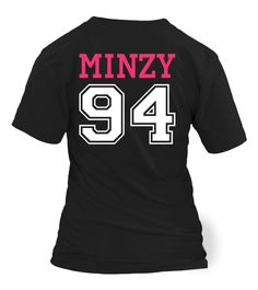 "2NE1 ""MINZY"" JERSEY"