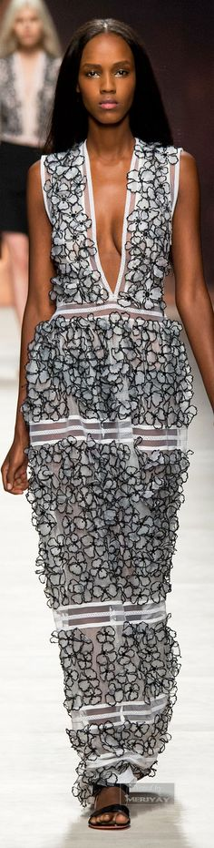 """Blumarine.Spring 2015 """"And the LORD said to Moses, """"Go to the people and consecrate them today and tomorrow. Have them wash their clothes."""" Exodus 19:10"""