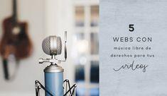 5 webs con música libre de derechos para tus vídeos | Aubrey and Me