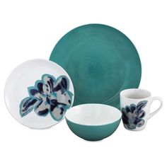 Embrace your artistic side with the Bloom Jade dinnerware collection. The stunning translucent jade dinner plate and abstract floral bloom will provide artistic flair to any table.