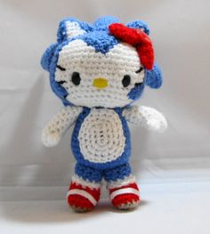 Checkout this amazing product PDF Amigurumi Pattern: Kitty in Sonic the Hedgehog Outfit at Shopintoit