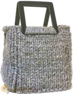 knitted bag - russian
