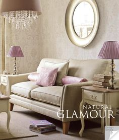 Find sophisticated detail in every Laura Ashley collection - home furnishings, children's room decor, and women, girls & men's fashion. Laura Ashley Living Room, Laura Ashley Home, Laura Ashley Round Mirror, Laura Ashley Lamps, Piece A Vivre, Rustic Bathrooms, Childrens Room Decor, Home And Deco, Home Furnishings