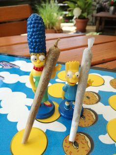 simpsons smoke weed
