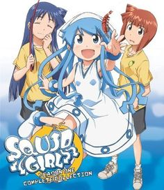 Squid Girl    [ adapted from Shinryaku! Ika Musume (manga) ]     Related:  Squid Girl Season 2 (TV) (sequel)    Alternative titles:  Shinryaku! Ika Musume (Japanese)  The Squid Girl: The Invader comes from the Bottom of the Sea!  侵略!イカ娘 (Japanese)    Genres: comedy, slice of life  Number of episodes: 12