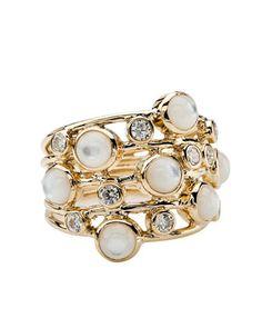 IPPOLITA - Diamond & Mother-of-Pearl Ring, 212 872 2536