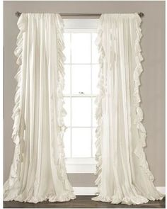 House of Hampton House of Hampton Eton Curtain Panel HOHN6084 Color: Ivory from Wayfair | BHG.com Shop