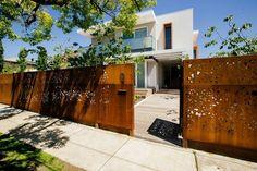 brise-vue jardin en acier corten option pour votre espace extérieur