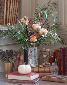 Colorful pumpkins, vegetables, and flowers emerge from the earth's abundance to lend their flair to the splendid pageantry and create elegant arrangements.