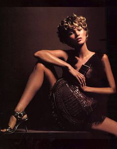 Kate Moss by Karl Lagerfeld for Fendi S/S 2002